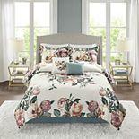 Madison Park Fleetwood 6-piece Comforter Set with Coordinating Pillows