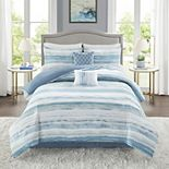 Madison Park Marianne 6-Piece Comforter Set with Coordinating Pillows