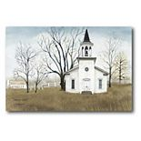 COURTSIDE MARKET Country Church Canvas Wall Art