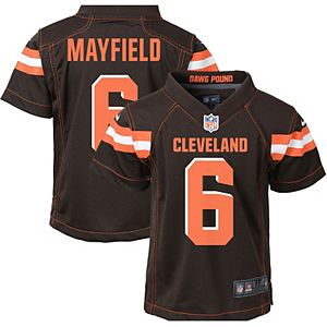 Toddler Nike Baker Mayfield Brown Cleveland Browns Game Jersey