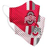 Adult Colosseum Ohio State Buckeyes Woven Face Covering 2-Pack