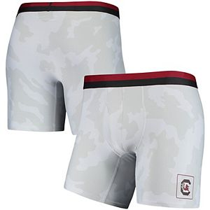 Men's Under Armour Gray South Carolina Gamecocks Boxer Briefs