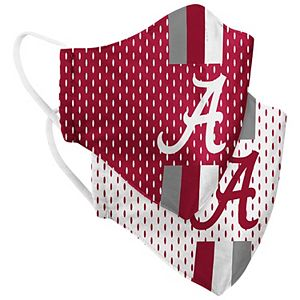Adult Colosseum Alabama Crimson Tide Woven Face Covering 2-Pack