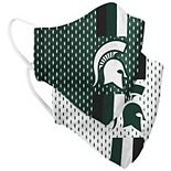 Adult Colosseum Michigan State Spartans Woven Face Covering 2-Pack