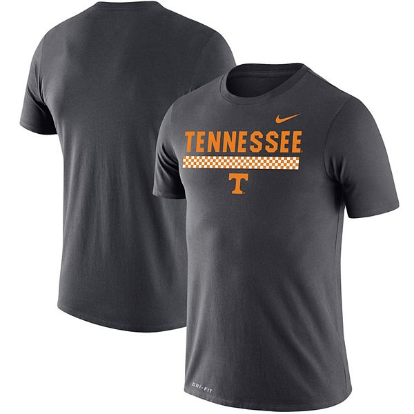 Men's Nike Charcoal Tennessee Volunteers Team DNA Legend Performance T-Shirt