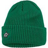 Women's adidas Kelly Green Dallas Stars Primary Logo Cuffed Knit Hat