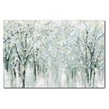 COURTSIDE MARKET Trees Blooming Canvas Wall Art