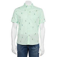 Men's Button-Down Short Sleeve Shirts   Kohl's