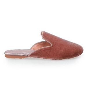 Women's LC Lauren Conrad Round Toe Vintage-Style Slippers