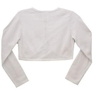 Girls 7-16 Bonnie Jean Flower Cardigan Sweater