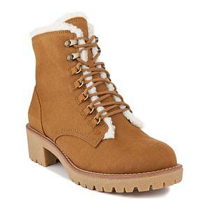 sugar Quizzer Women's Faux Fur Hiker Boots