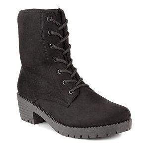 sugar Kam Women's Combat Boots