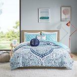 Intelligent Design Ariella Boho Medallion Printed Reversible Comforter Set