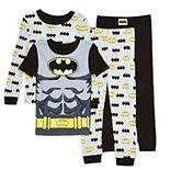 Toddler Boy Batman 4-Piece Pajama Set
