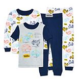 Toddler Boy Tonka Truck 4-Piece Pajama Set