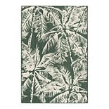 Sonoma Goods For Life® Indoor Outdoor Palm Area Rug