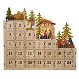 Kurt Adler Nativity Scene Countdown to Christmas Advent Calendar