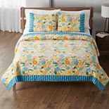 Sonoma Goods For Life® New Traditions Seaside Citrus Floral Quilt or Sham