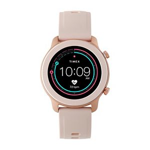 iConnect by Timex Metropolitan Blush Silicone Strap Smart Watch - TW5M43000IQ