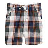 Toddler Boy / Boys 4-12 Jumping Beans® Adaptive Plaid Shorts