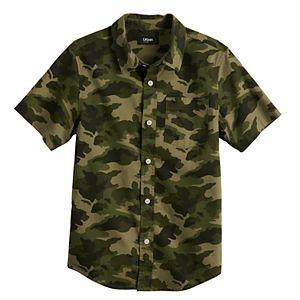 Boys 8-20 Urban Pipeline? Button-Front Shirt in Regular & Husky