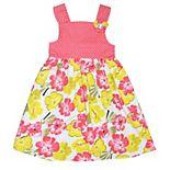 Girls 4-6x Blueberi Boulevard Empire Waist Floral Dress