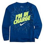 """Boys 4-7 Nike """"I'm In Charge"""" Graphic Tee"""