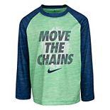 "Boys 4-7 Nike Dri-FIT ""Move The Chains"" Raglan Tee"