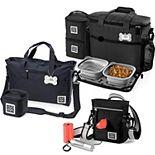Mobile Dog Gear Bundle: Day/Night Walking Bag, Day Away Tote Bag & Week Away Bag for Medium / Large Dogs