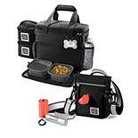 Mobile Dog Gear Bundle: Day/Night Walking Bag & Week Away Bag for Small Dogs