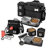 Mobile Dog Gear Bundle: Day/Night Walking Bag, Week Away Bag for Medium / Large Dogs & Dine Away Set for Medium / Large Dogs