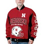 Men's Nebraska Cornhuskers Top Dog Twill Jacket
