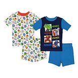 Boys 4-10 Marvel Avengers Axion Team Tops & Shorts Pajama Set