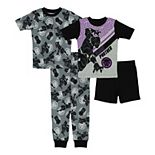 Boys 4-10 Marvel Avengers Black Panther King Tops & Bottoms Pajama Set