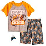 Boys 4-12 Up-Late Boys Tee & Shorts Pajama Set