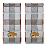 SKL Home 2-pack Pumpkins Hand Towel