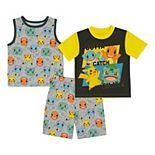 Boys 6-12 Pokemon Got 'Em Tops & Shorts Pajama Set
