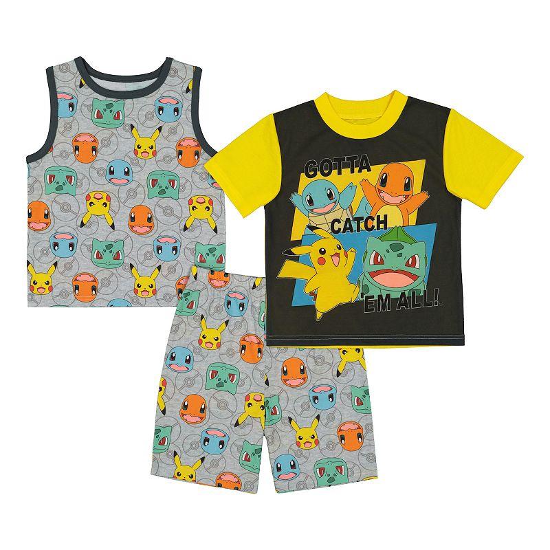 Boys 6-12 Pokemon Got 'Em Tops & Shorts Pajama Set, Boy's, Size: 10