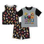 Boys 4-10 Nintendo Animal Crossing Visitors Guide Tops & Shorts Pajama Set