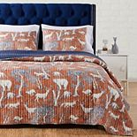 Barefoot Bungalow Menagerie Quilt Set with Shams