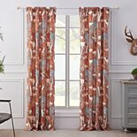 Barefoot Bungalow 2-pack Menagerie Window Curtain Set