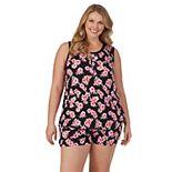 Plus Size Cuddl Duds® Pajama Tank & Pajama Shorts Set