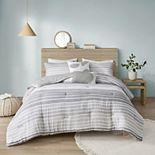 Urban Habitat Brendon Woven Stripe Cotton Gauze Comforter Set