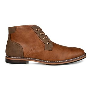 Vance Co. Franco Men's Plain Toe Chukka Boots