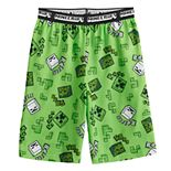 Boys 4-16 Minecraft Nob Sounds Sleep Shorts