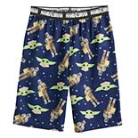 Boys 6-16 Star Wars The Mandalorian Bounty The Child aka Baby Yoda Sleep Shorts