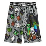 Boys 4-16 Minecraft Mobs Are Coming Sleep Shorts