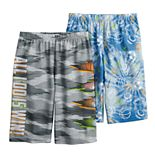 Boys 4-16 Up-Late 2-Pack All Day Sleep Shorts