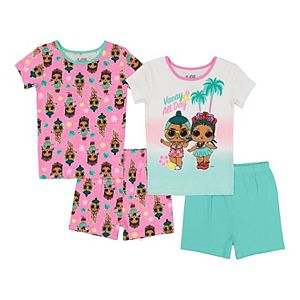 Girls 6-10 L.O.L. Surprise! Vacay All Day Tops & Bottoms Pajama Set