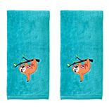 SKL Home 2-pack Sloth Hand Towel